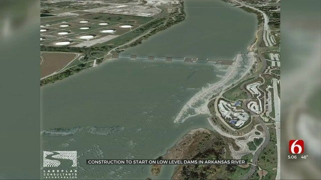 Big Changes Planned For Arkansas River In Tulsa