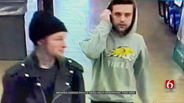 Broken Arrow Police Look For 2 Men In Credit Card Theft