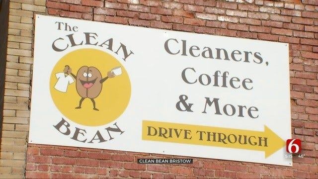 Bristow's Clean Bean Combines Dry Cleaner With Coffee Shop