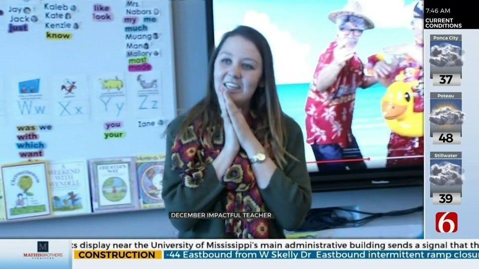 Jenks Educator Honored As 'Impactful Teacher'