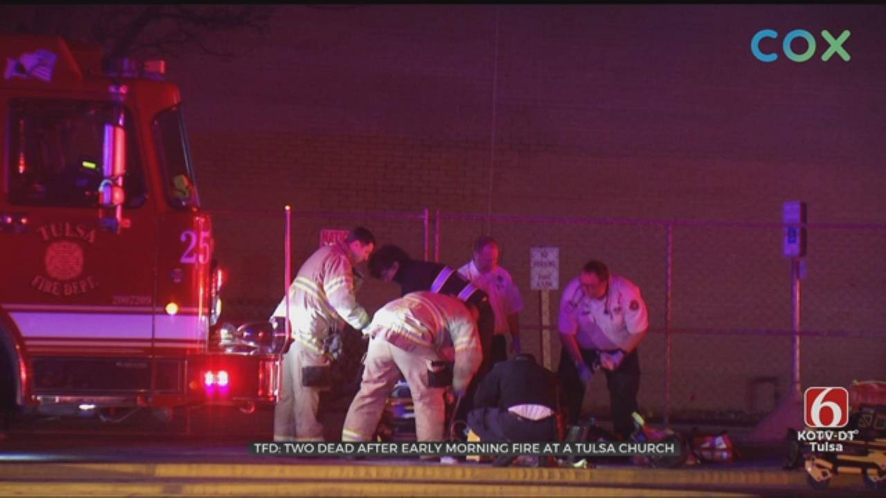 2 Dead After Fire At Tulsa Church Building