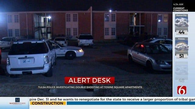 Police: 2 Men Shot At Tulsa Apartment Complex
