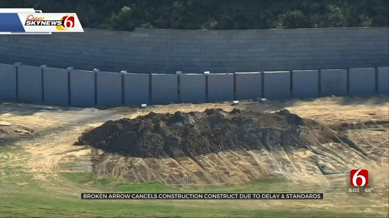 Broken Arrow Terminates Construction Contract Due To Delays, Standards