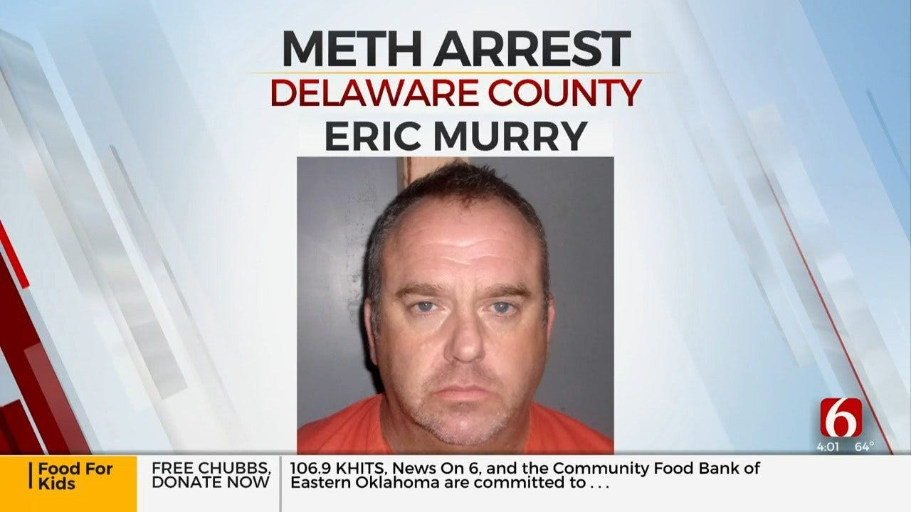 Delaware County Man Arrested On Meth Trafficking Complaints