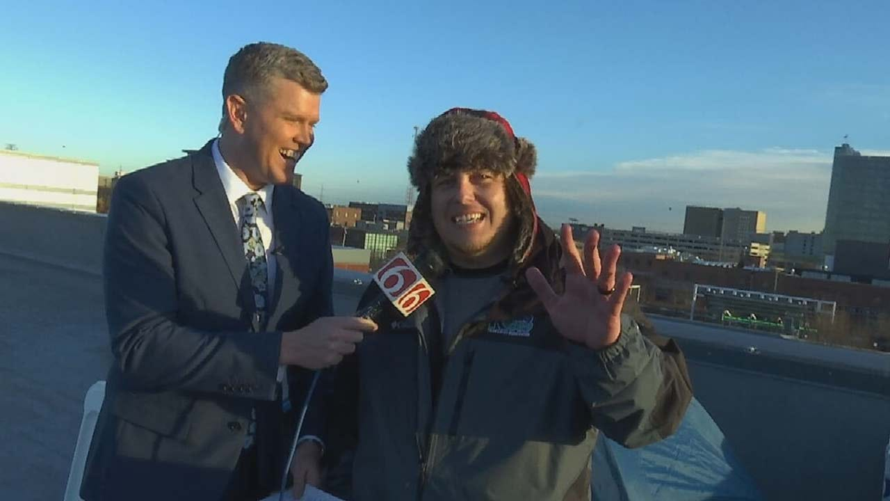 'Free Chubbs' Update: Brian Dorman Joins Chubbs Atop News On 6 Roof