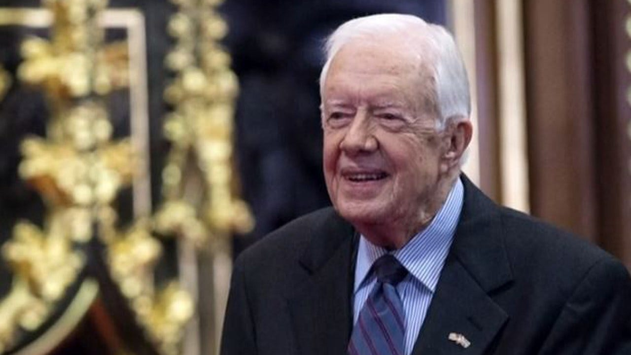 Former President Jimmy Carter Hospitalized For Treatment Of UTI