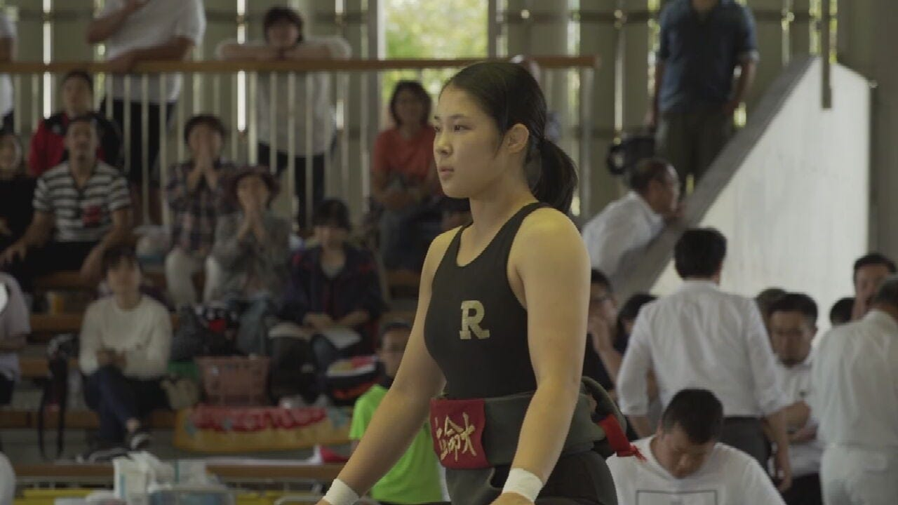 Female Sumo Wrestlers Step Into The Ring In Japan