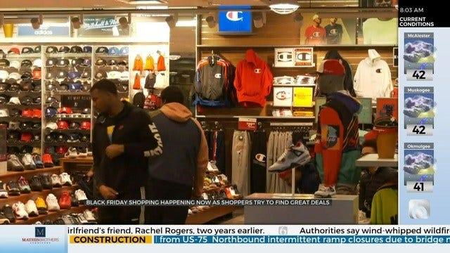 Tulsa Shoppers Take Advantage Of Black Friday Sales