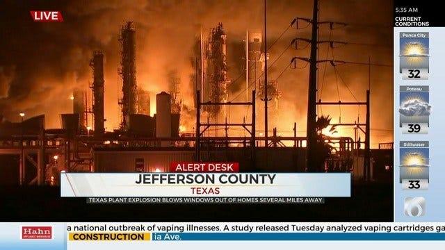 Texas Plant explodes, Mandatory Evacuation Issued