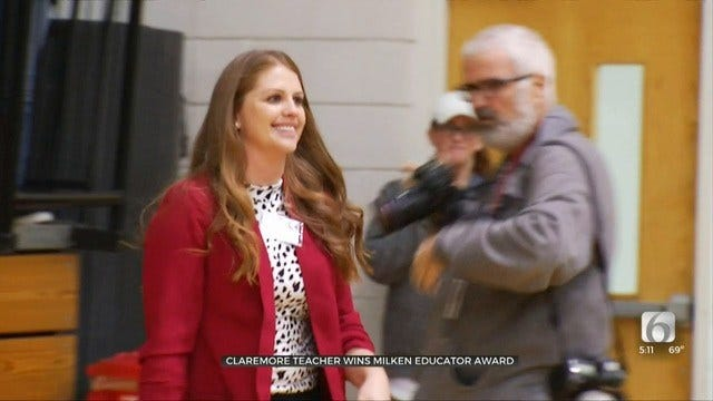 Claremore Teacher Recognized For Excellence With National Milken Award