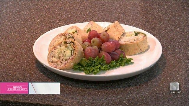 Thanksgiving Turkey-Cranberry Wrap