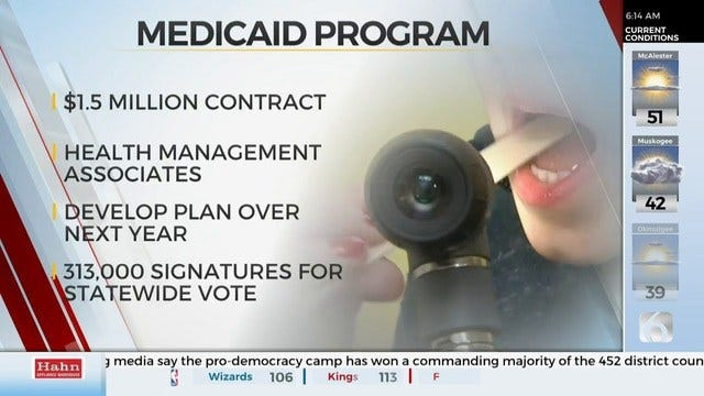 Oklahoma Turns To Out-Of-State Firm For Medicaid Program Plan