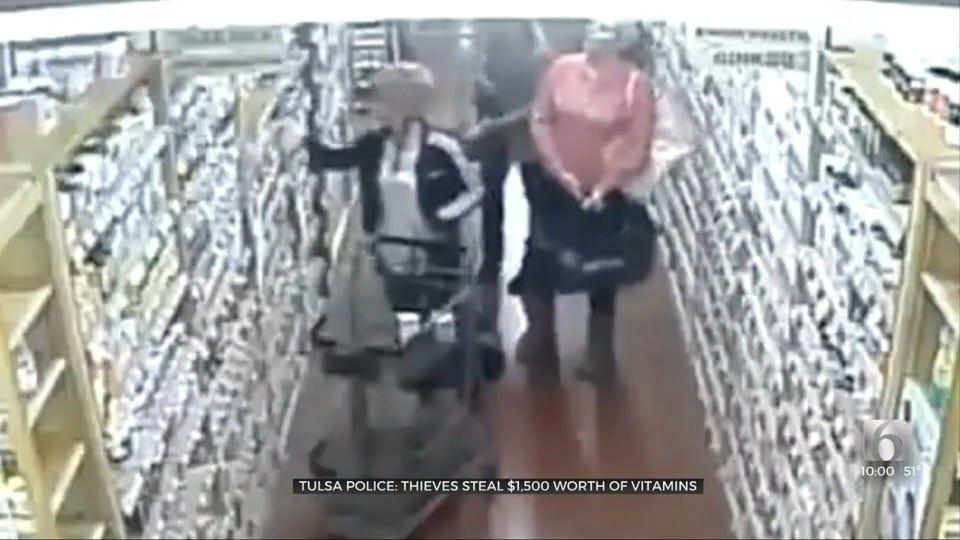 Tulsa PD: 3 Women Caught On Camera Stealing $1,500 Worth Of Vitamins