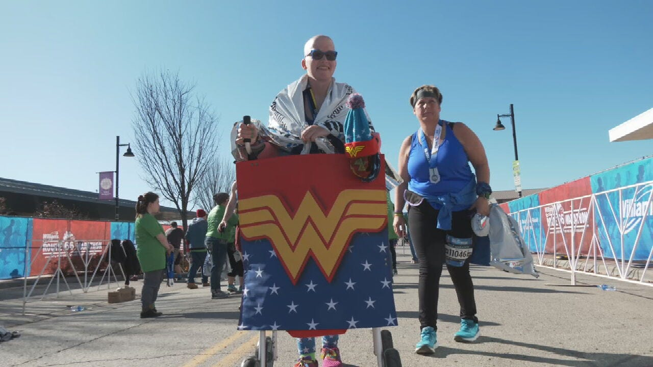 Shooting Survivor From Vinita Completes Route 66 Marathon