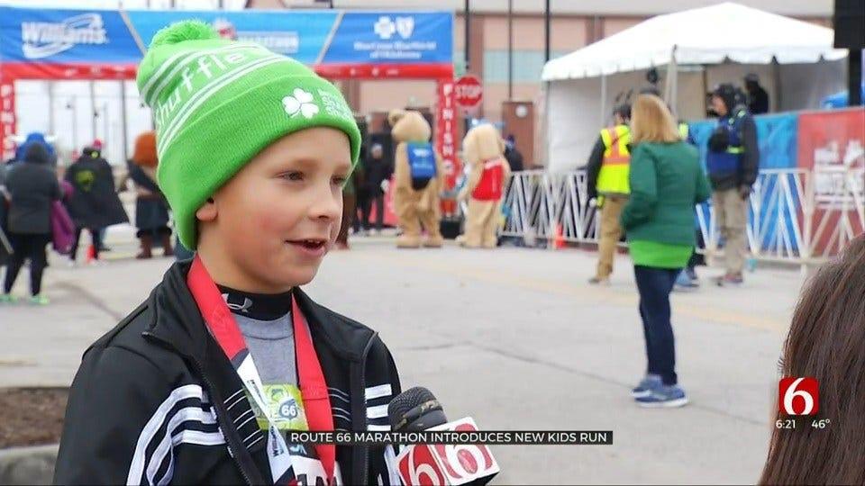 Route 66 Marathon Introduces 1st 'Kicks For Kids' Run