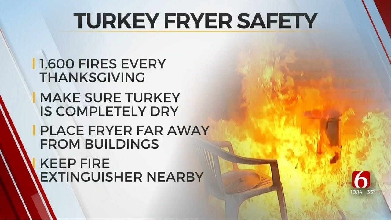 Oklahoma Insurance Commissioner Gives Safety Tips For Frying Thanksgiving Turkey