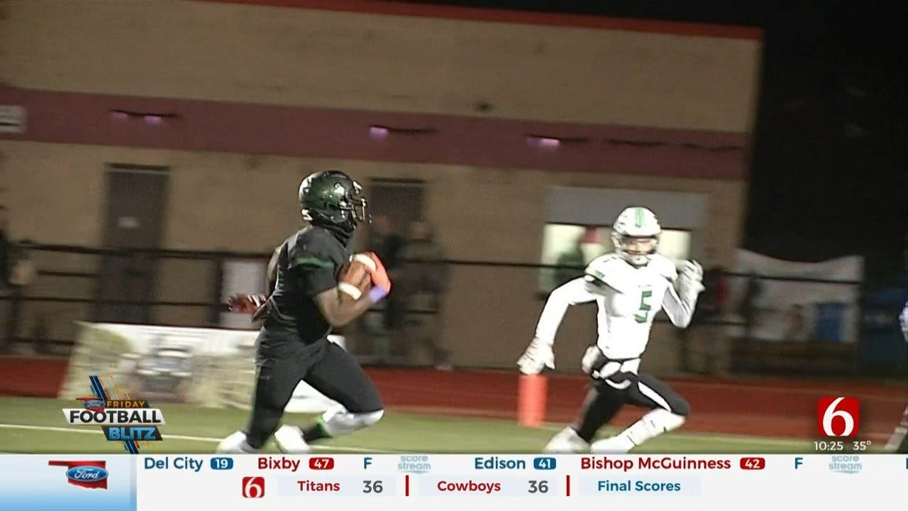 (Tulsa Area) High School Football Roundup: Playoffs Week 2