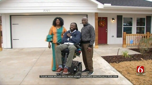 Well-Known Tulsa Man Emeka Nnaka Gets New Home After Losing Apartment To Fire