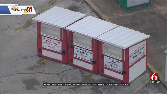 Man Dies While Apparently Trying To Remove Items From Donation Bin In Okmulgee