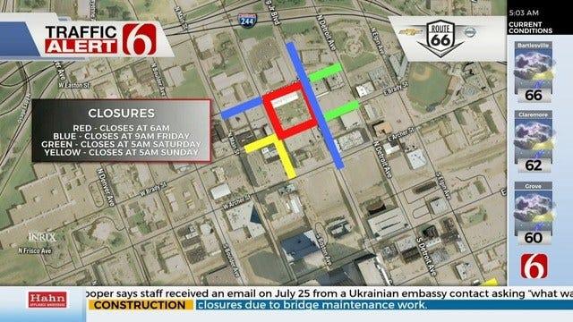 Route 66 Marathon Road Closures To Impact Drivers