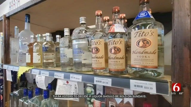 Sunday Liquor Sales In Oklahoma To Be On The Ballot In March