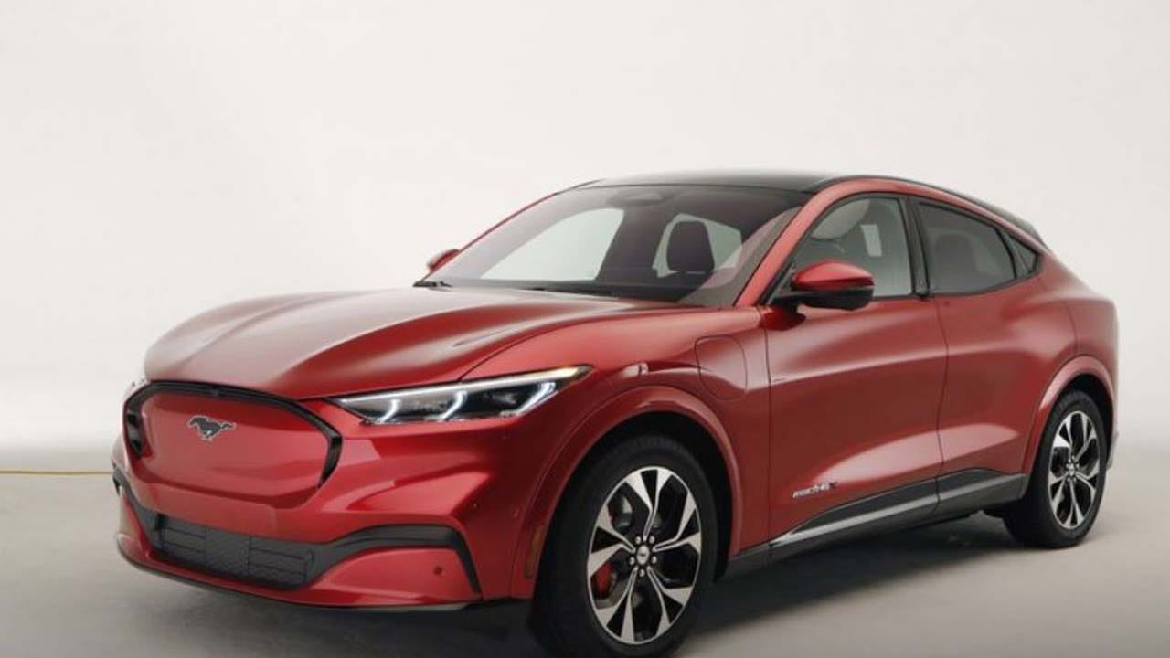 Ford Mustang SUV Starts Blitz Of New Electric Vehicles