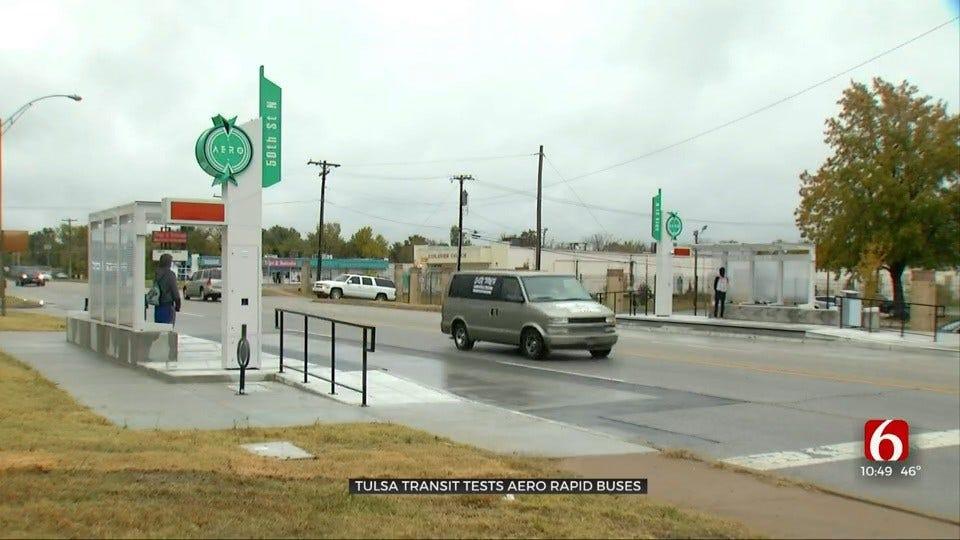 Tulsa Transit Launches Free Testing Of Aero Rapid Bus Services