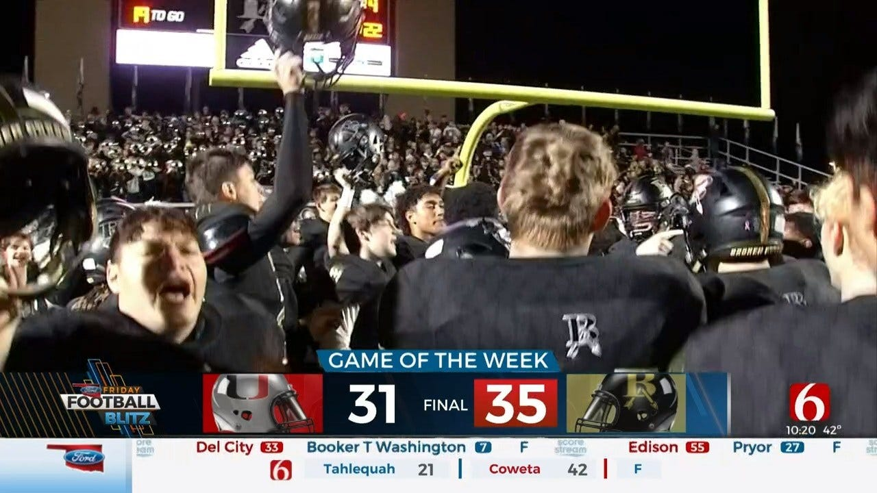 Broken Arrow Escapes Union To Advance To State Semifinals