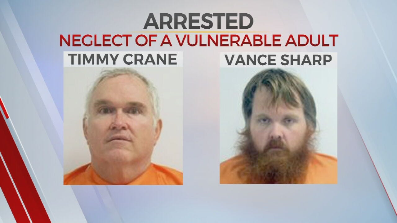 2 Men Accused Of Elder Abuse In Creek County