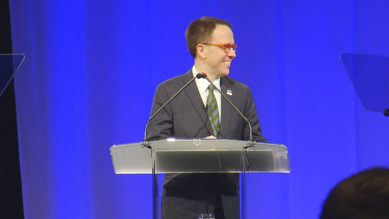 Tulsa Mayor Bynum Delivers State Of The City Address; Announces Bid For Re-Election