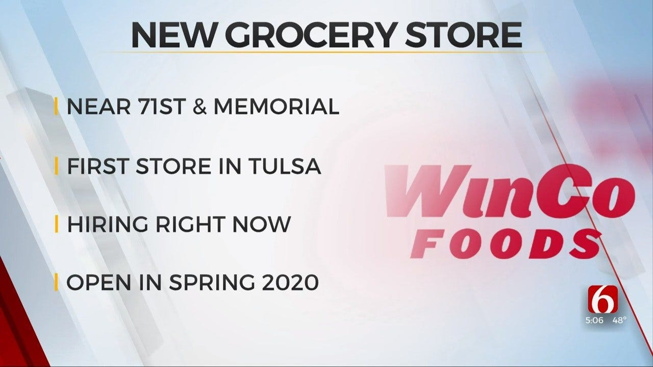 WinCo Foods To Open Tulsa Grocery Store