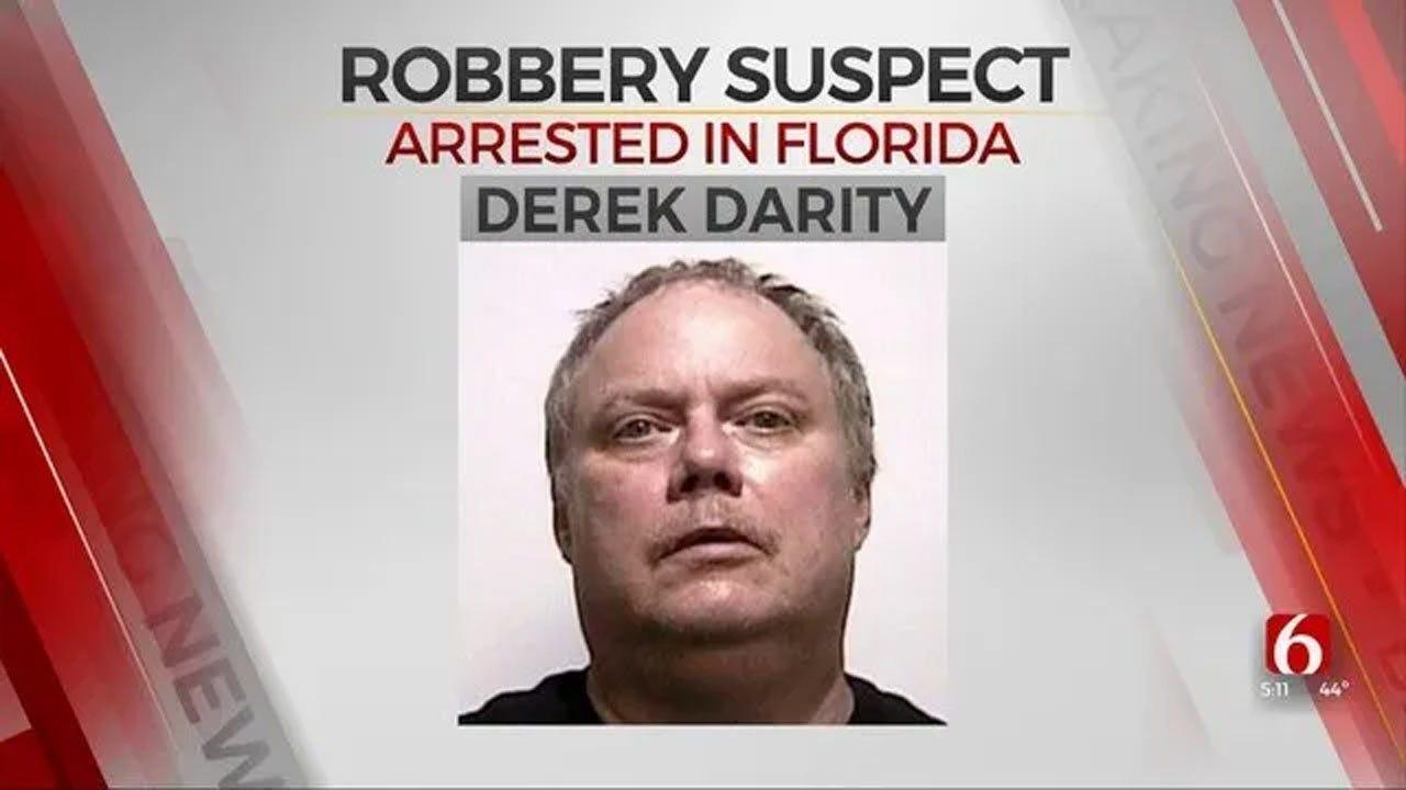 Florida Extradites Tulsa Bank Robbery Suspect