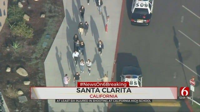 L.A. County Sheriff: Student In Custody After Santa Clarita High School Shooting