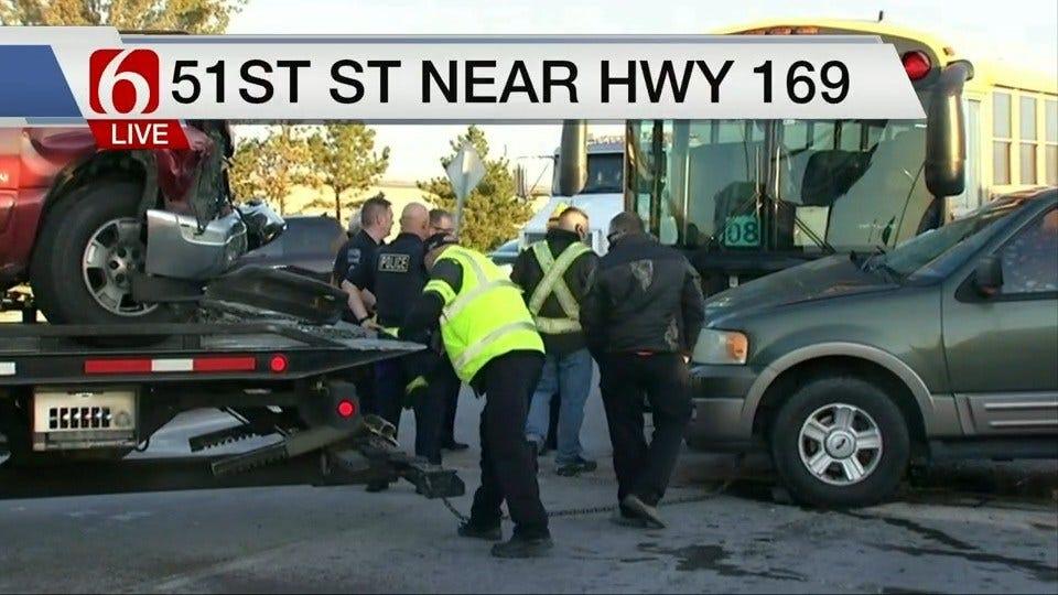 Union School Bus Involved In Crash
