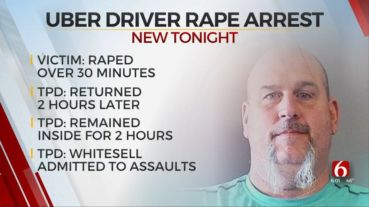 Bixby Uber Driver Accused Of Sexually Assaulting Intoxicated Woman