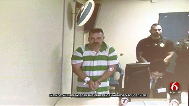 Mannford Officer Charged With 2nd-Degree Murder In Death Of Police Chief