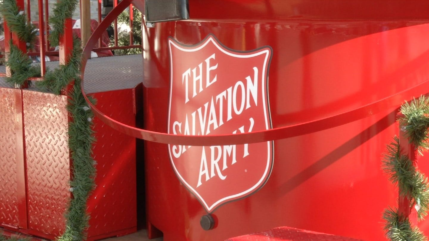 The Salvation Army Red Kettles Go High-Tech