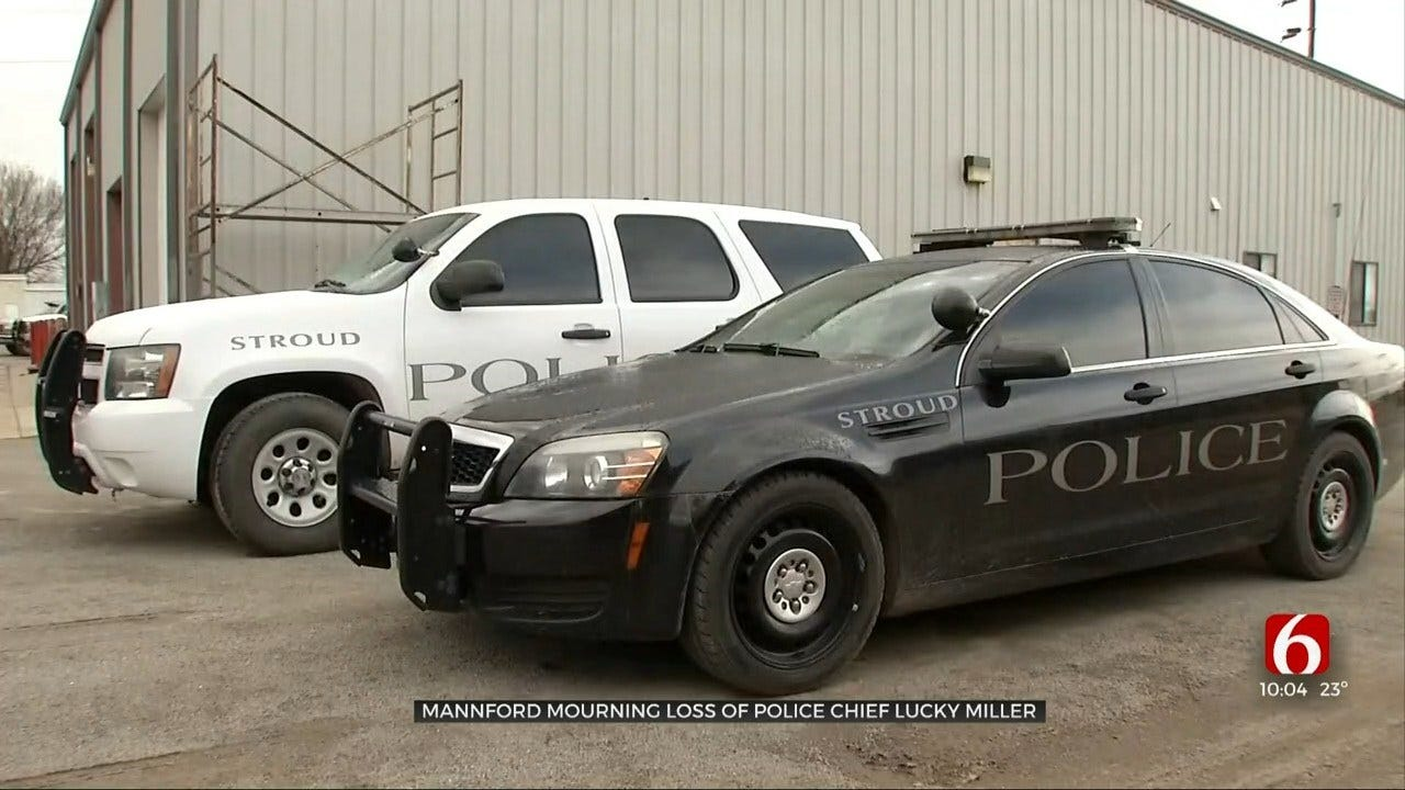 Law Enforcement Agencies Fill In As Mannford Officers Grieve Loss Of Police Chief