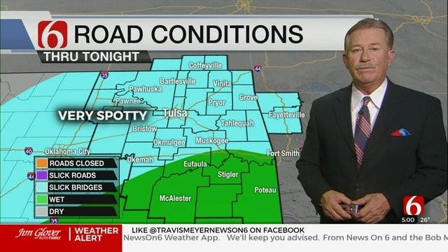 WATCH: Travis Meyer's Winter Weather Update At 5:11 PM