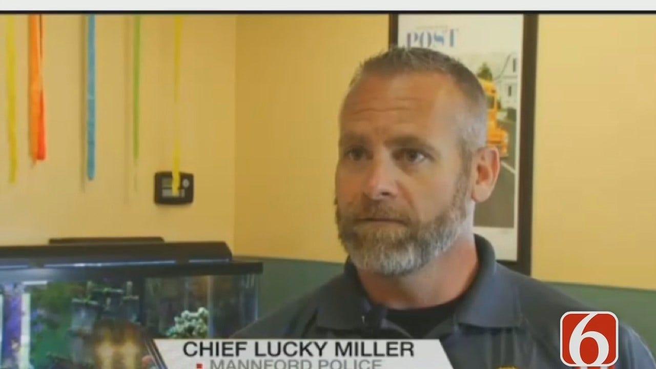 WATCH: Mannford Police Chief Lucky Miller Killed; Mannford Officer In Custody