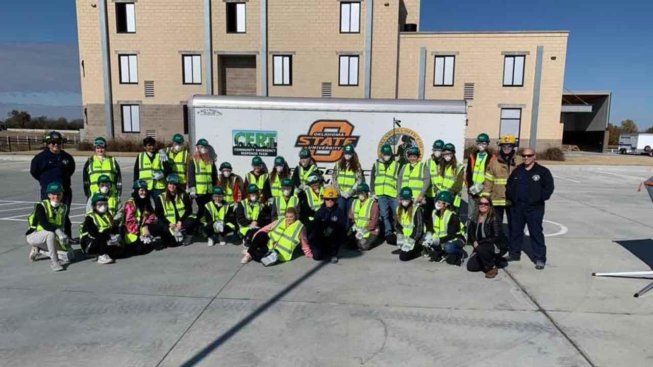 Owasso Firefighters Host Emergency Response Training For Teens