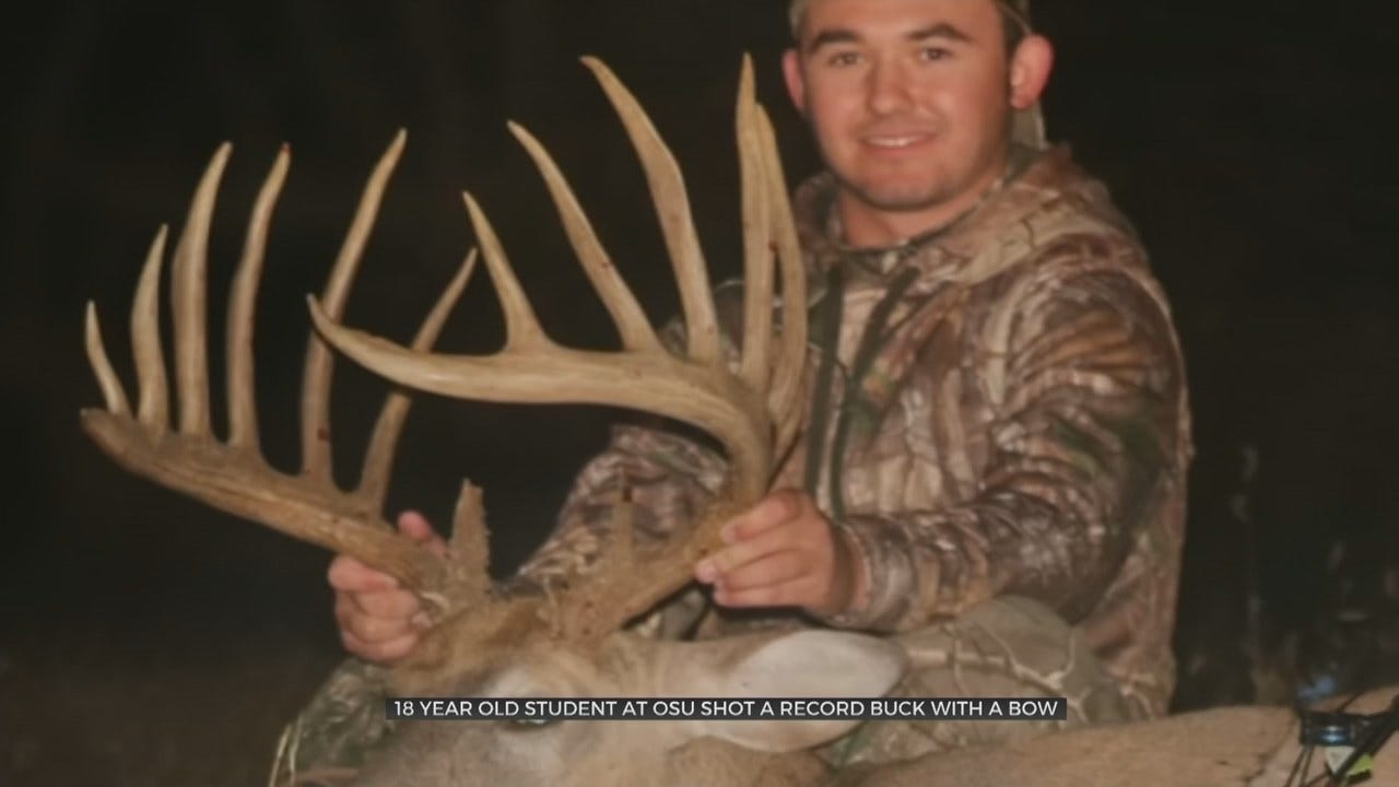The Big One: 18 Year-Old Oklahoman Talks About Possible State Record Whitetail