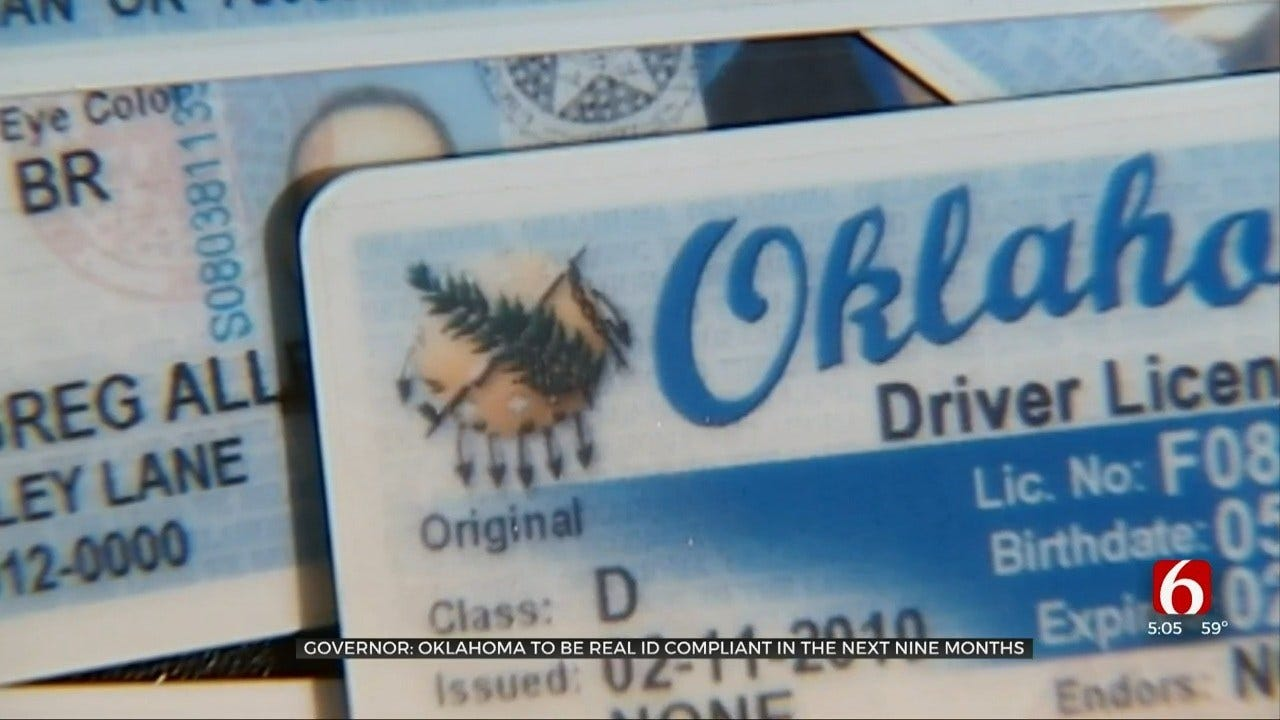 Gov. Stitt Holds Update On Oklahoma Real ID Compliance Efforts