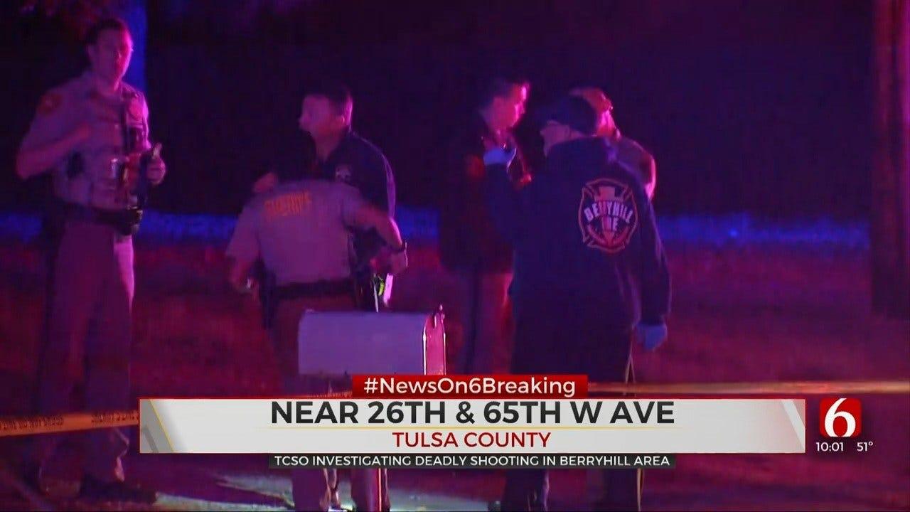 Deputies Investigating Homicide In West Tulsa County