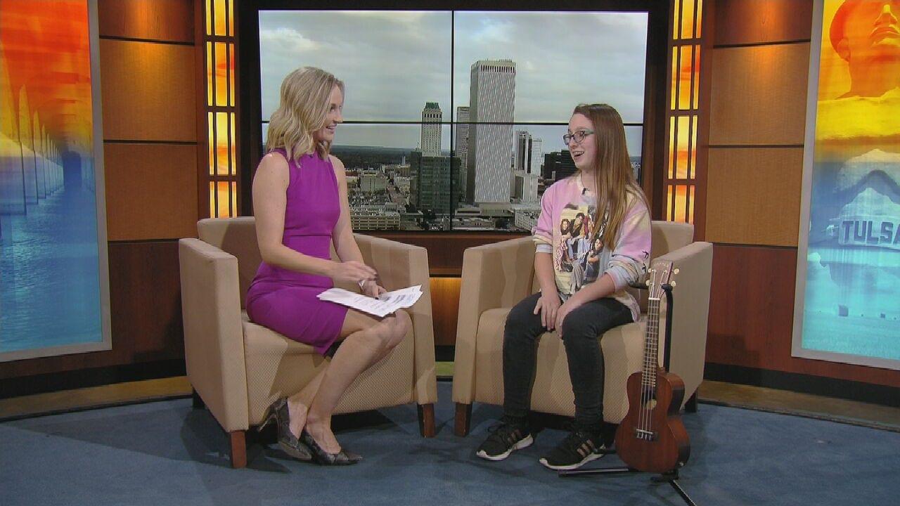 12-Year-Old Singer Dakota Chrisman Talks About Performing In Tulsa