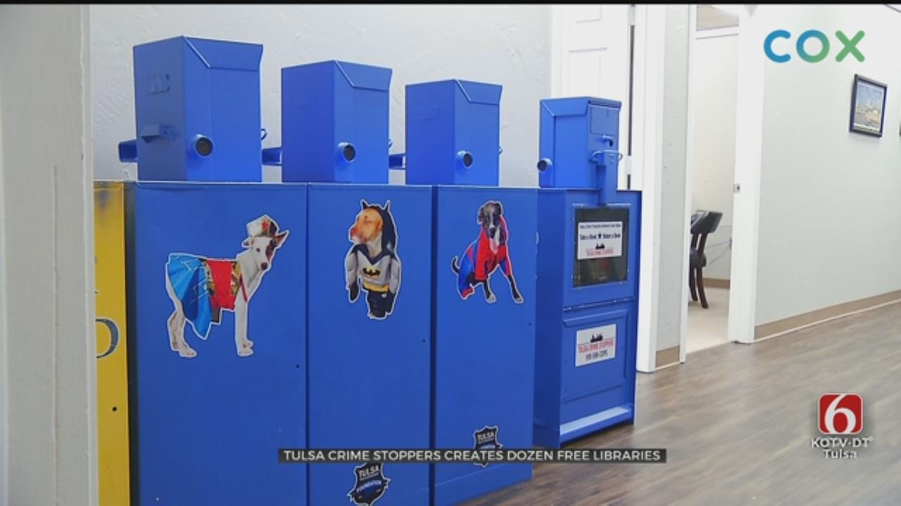 Tulsa Crime Stoppers To Add 'Little Libraries' To Low Income Areas