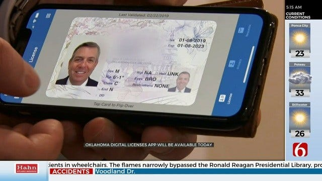 Oklahoma Launches Digital Driver's Licenses