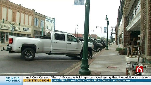 Claremore Begins Work To Make Downtown More Pedestrian Friendly