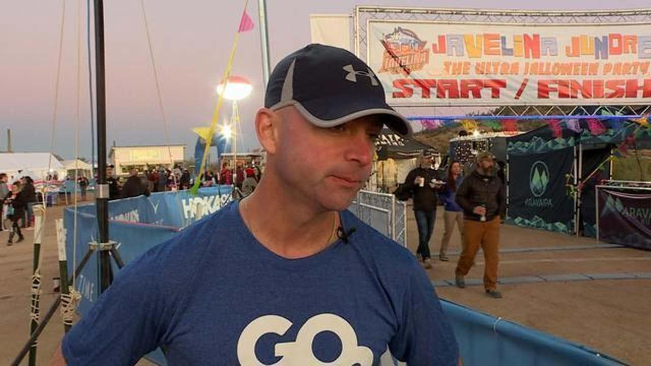 Secret Service Agent Runs A 100K Race After Lung Cancer Diagnosis