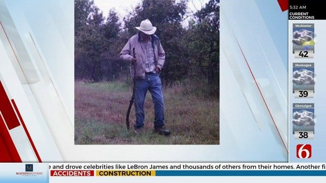 WATCH: Search Continues For McLoud Man Still Missing After 1 year